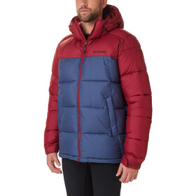 Columbia Pike Lake Kapuzenjacke Herren dark mountain/red jasper